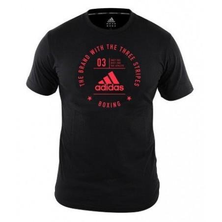 adidas Community Cotton Boxing Tee Shirt  | USBOXING.NET