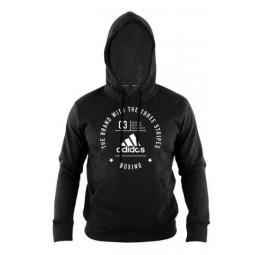 adidas Community Long Sleeve Boxing Hoodie | USBOXING.NET